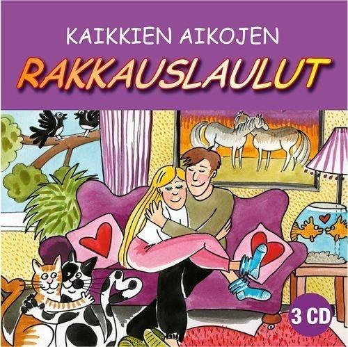 Kaikkien aikojen rakkauslaulut (3CD)