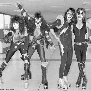 Kiss London 1976 Juliste Paperia