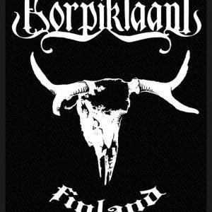 Korpiklaani Finland Kangasmerkki 100% Polyesteria