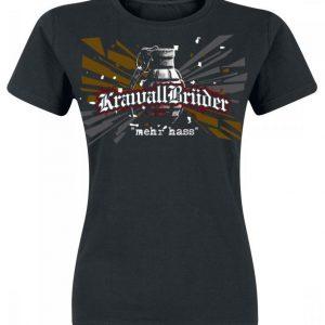 Krawallbrüder Mehr Hass Naisten T-paita