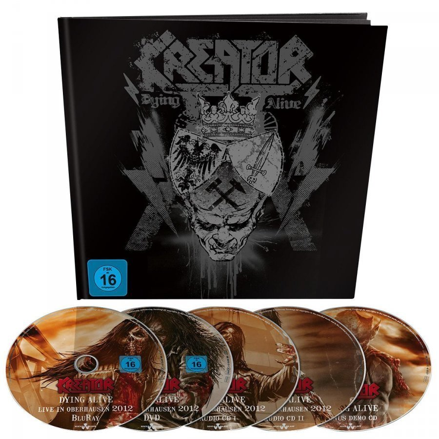 Kreator Dying Alive DVD
