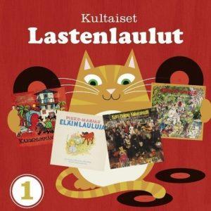 Kultaiset Lastenlaulut 1 (4 CD)