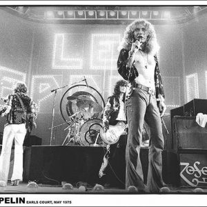 Led Zeppelin Earls Court Juliste Paperia