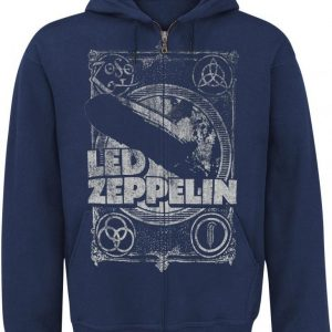 Led Zeppelin Shook Me Vetoketjuhuppari