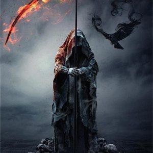 Liliana Sanches The Reaper's Raven Juliste