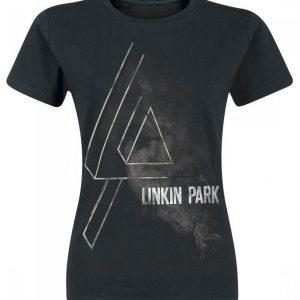 Linkin Park Smoke Logo T-paita