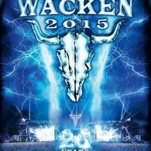 Live At Wacken 2015 - 26 Years (3 Blu-ray+CD)