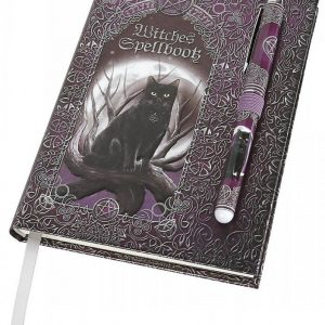 Luna Lakota Embossed Witches Spell Book Journal With Pen Muistikirja