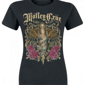 Mötley Crüe Exquisite Dagger T-paita