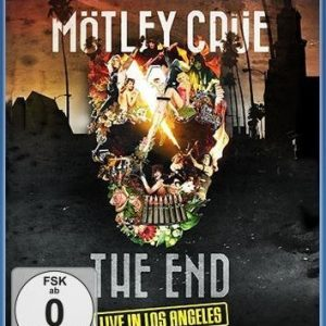 Mötley Crüe The End Live In Los Angeles Blu-Ray