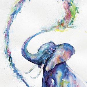 Marc Allante Elephant Juliste