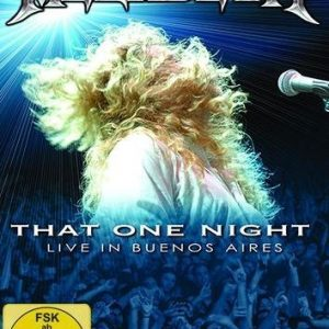 Megadeth That One Night: Live In Buenos Aires DVD