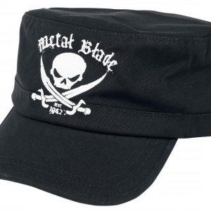 Metal Blade Pirate Logo Lippis
