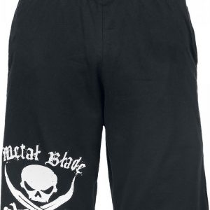 Metal Blade Pirate Logo Shortsit