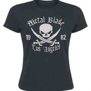 Metal Blade Pirate Logo T-paita