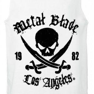 Metal Blade Pirate Logo Tank-Toppi