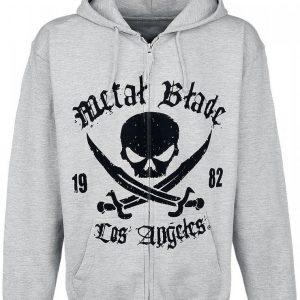 Metal Blade Pirate Logo Vetoketjuhuppari