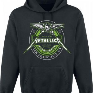 Metallica 100% Fuel Huppari