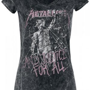 Metallica ...And Justice For All Naisten T-paita