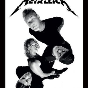 Metallica Band Twisted Kehystetty Kuva Muovia