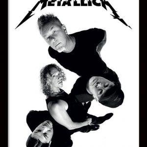 Metallica Band Twisted Kehystetty Kuva Muovia