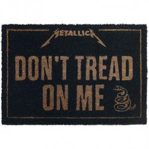 Metallica Don't Tread On Me Ovimatto Pvc:Tä