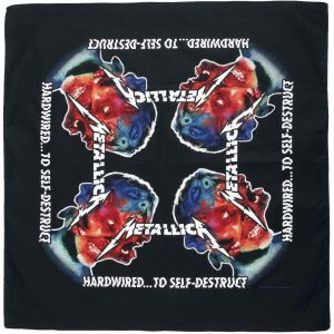 Metallica Hardwired...To Self-Destruct Bandana