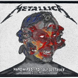 Metallica Hardwired...To Self-Destruct Kangasmerkki 100% Polyesteria