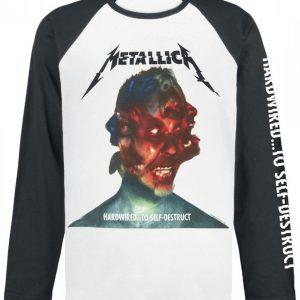 Metallica Hardwired...To Self-Destruct Pitkähihainen Paita