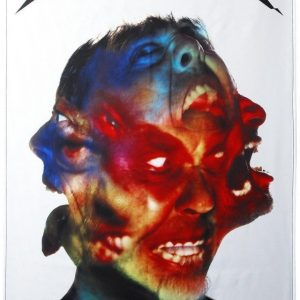 Metallica Hardwired...To Self-Destruct Seinälippu Musta