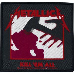 Metallica Kill `em All Kangasmerkki 100% Polyesteria