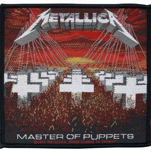 Metallica Master Of Puppets Kangasmerkki 100% Polyesteria