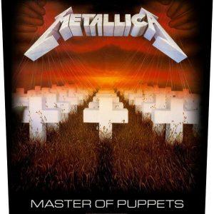 Metallica Master Of Puppets Selkälippu 100% Polyesteria