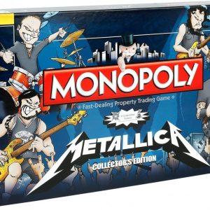 Metallica Monopoly Lautapeli