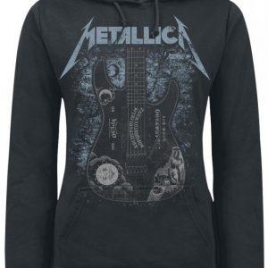 Metallica Ouija Guitar Naisten Huppari