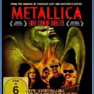 Metallica Some Kind Of Monster Blu-Ray