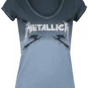 Metallica Spiked Logo Naisten T-paita