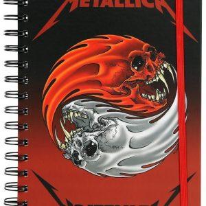 Metallica Yin Yang Skulls Muistivihko Paperia