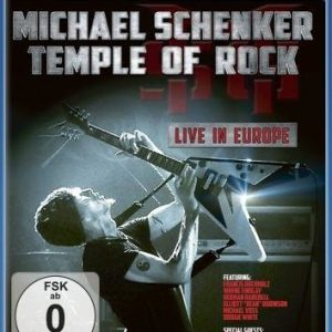 Michael Schenker's Temple Of Rock Live In Europe Blu-Ray