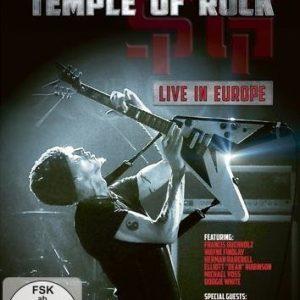 Michael Schenker's Temple Of Rock Live In Europe DVD