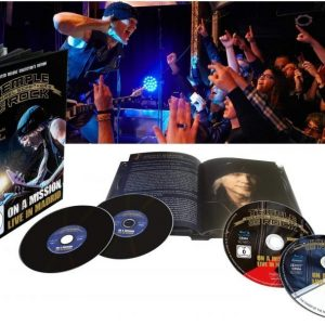 Michael Schenker's Temple Of Rock On A Mission Live In Madrid Blu-Ray
