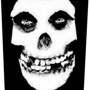Misfits Face Skull Selkälippu 100% Polyesteria
