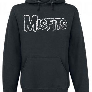 Misfits Logo & Skull Huppari
