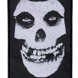 Misfits Skull Kangasmerkki 100% Polyesteria