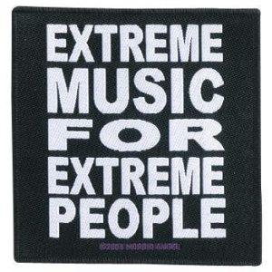 Morbid Angel Extreme Music For Extreme People Kangasmerkki 100% Polyesteria