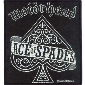 Motörhead Ace Of Spades Kangasmerkki 100% Polyesteria