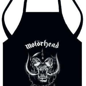 Motörhead Apron Logo Esiliina 100% Puuvillaa