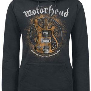 Motörhead Bass Guitar Naisten Huppari