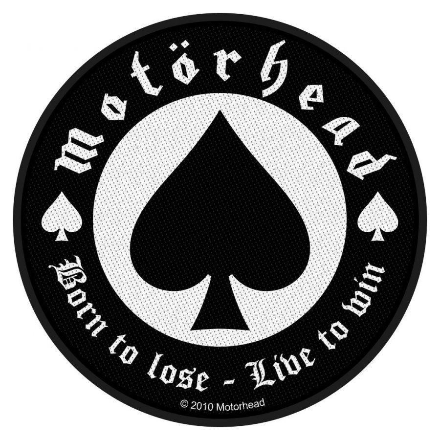 Motörhead Born To Lose Kangasmerkki
