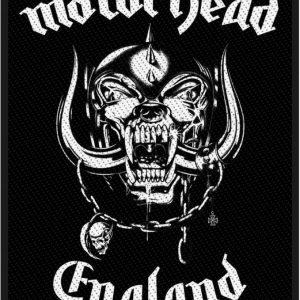Motörhead England Kangasmerkki 100% Polyesteria